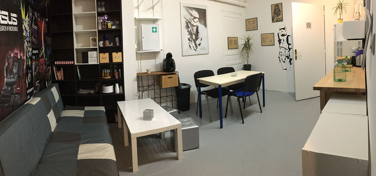 Micro Cosmo – Coworking